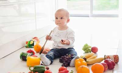 Chế độ dinh dưỡng cho bé trên 1 tuổi