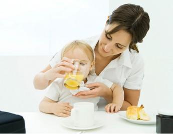Thực đơn ăn dặm cho bé từ hoa quả