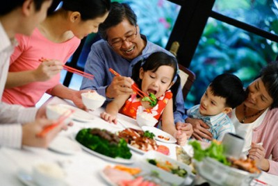 Thực đơn bữa cơm gia đình hàng ngày