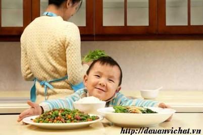 Các món ăn dặm cho bé với đậu hà lan